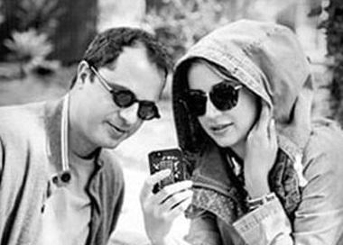 زورآزمایی شبنم قلی خانی با همسرش! +عکس