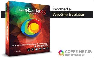 دانلود نرم افزار طراحی وب سایت Incomedia WebSite X5 Evolution v12.52 2016
