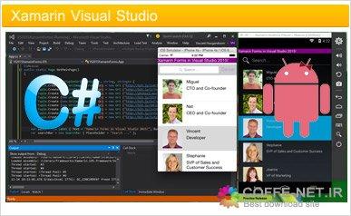 نرم افزار برنامه نویسی اندروید و ios در ویژوال استودیو Xamarin ...دانلود نرم افزار ساحت برنامه های اندروید توسط ویژوال استودیو