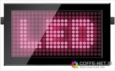 طرح لایه باز تابلو LED