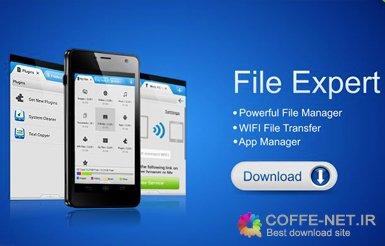 نرم افزار اندروید File Expert with Clouds Full