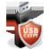 دانلود نرم افزار قفل گذاری بر روی فلش و رسانه های قابل حمل USBCrypt 16.10.1