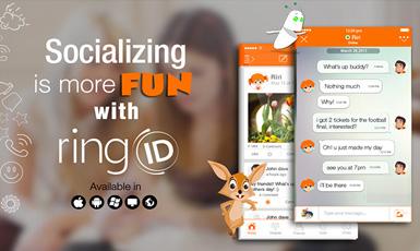 دانلود منسجر رینگ آیدی برای اندروید ringID Android