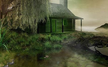 دانلود اسکرین سیور خانه ای کنار دریاچه Lakehouse 3D Screensaver