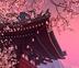 دانلود اسکرین سیور رویایی خانه ژاپنی و شکوفه های بهاری Blooming Sakura 3D Screensaver