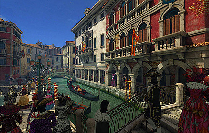 دانلود اسکرین سیور شهر ونیز Venice Carnival 3D Screensaver
