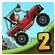 بازی سرگرم کننده مسابقات تپه نوردی اندروید Hill Climb Racing 2 v1.4.2 / 1.31.2