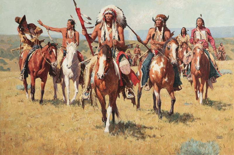 Старый индейцев тоже трахает дикий52