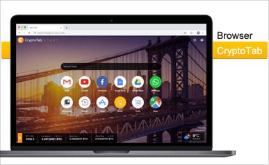 دانلود مرورگر اینترنت CryptoTab Browser جایگزین موزیلا فایرفاکس و گوگل کروم