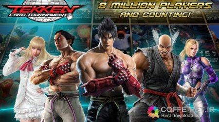 دانلود بازی تیکن برای اندروید + دیتا + تریلر Tekken Card Tournament 3.204