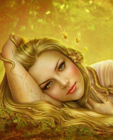 زیباترین عکس های نقاشی شده دخترانه برای پروفایل سری اول